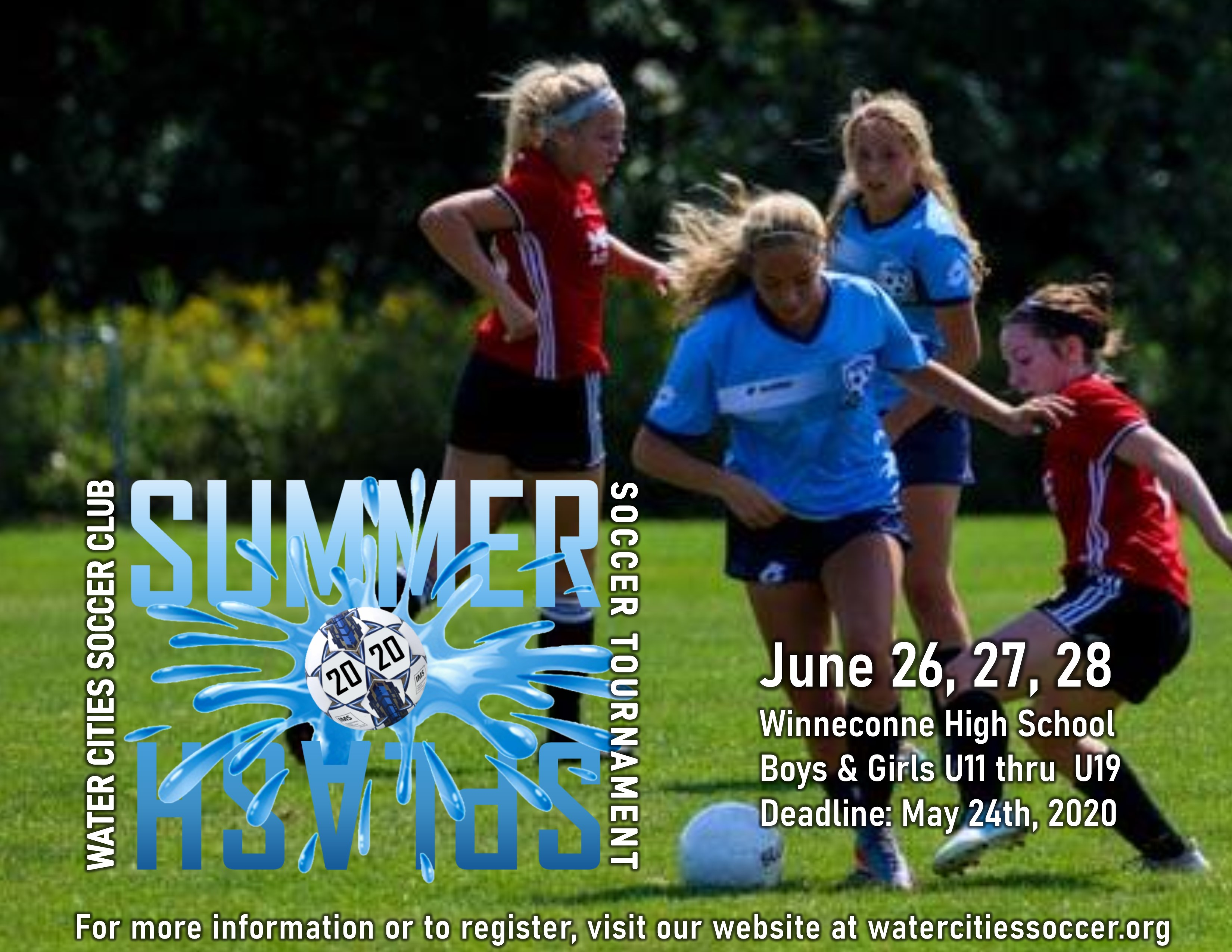WATER CITIES SUMMER SPLASH TOURNAMENT!!