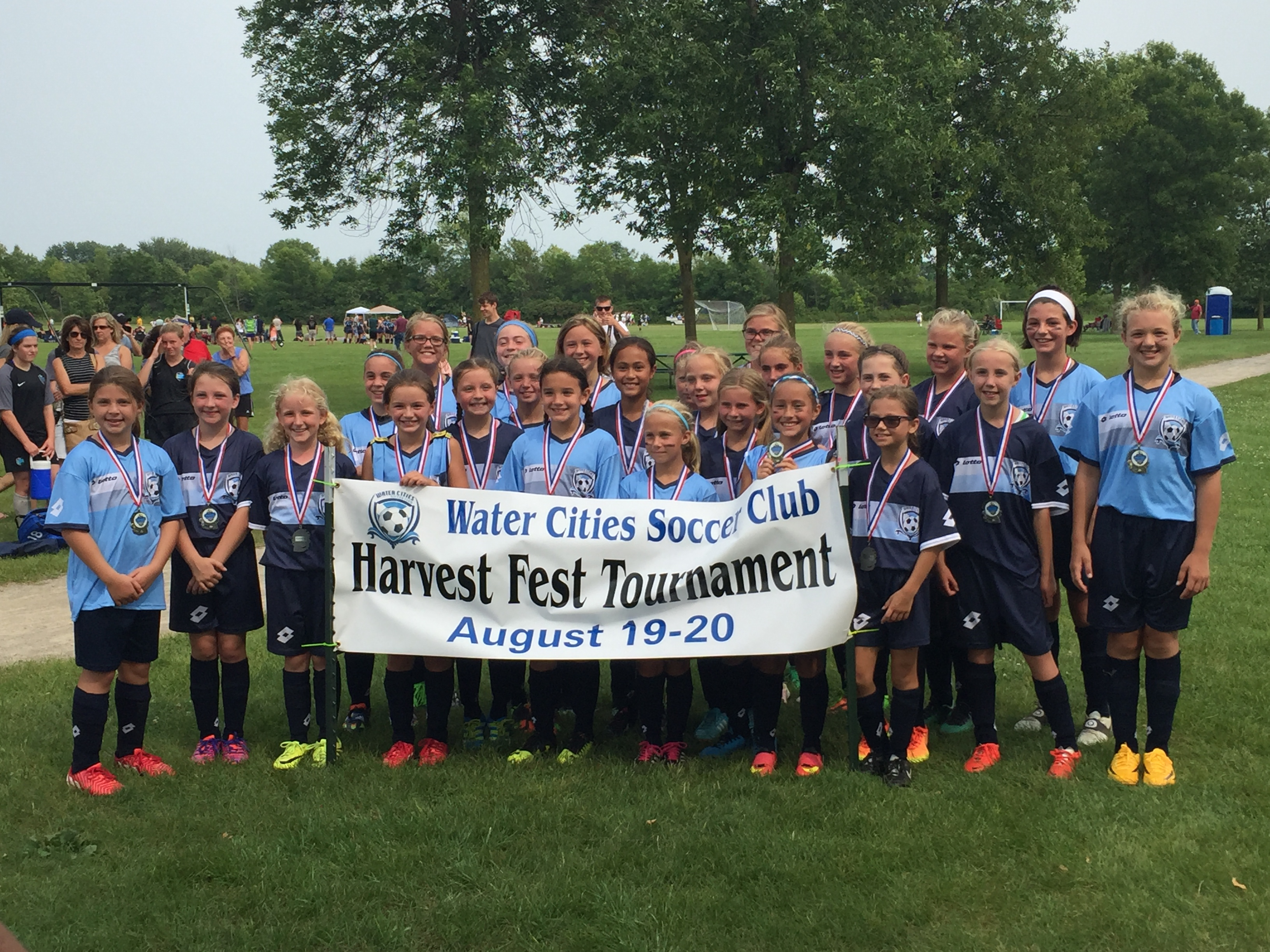 PAST WATER CITIES SOCCER TOURNAMENTS